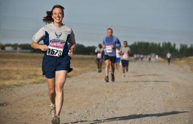 Löpning på hårt underlag